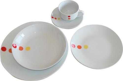 juego vajilla porcelana