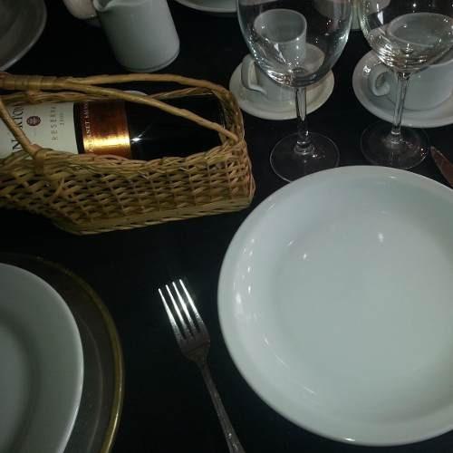 juego vajilla tsuji 36 piezas platos bar hotel linea 450 cs