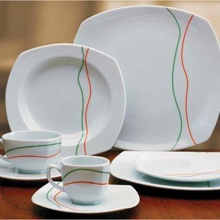 Juegos de vajilla juego caf cartuja imperio atenea pzs for Vajilla de platos