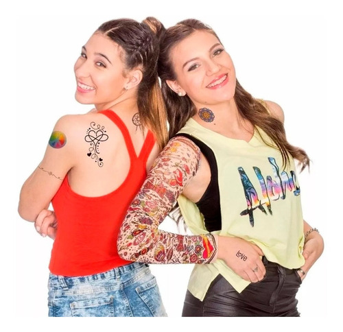 juego valija juliana grande tatuajes tattoo nueva original