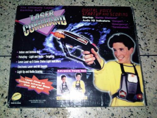 juego vintage laser comand en caja