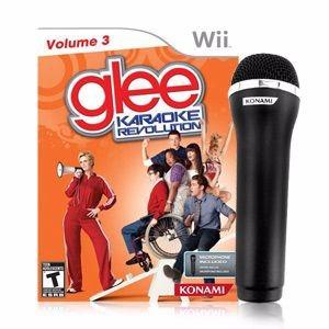 juego wii glee karaoke + microfono sellado