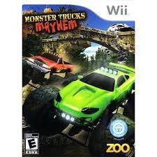 juego wii monster trucks mayhem! nuevo