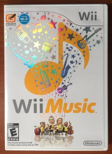 juego wii music original para nintendo wii como nuevo
