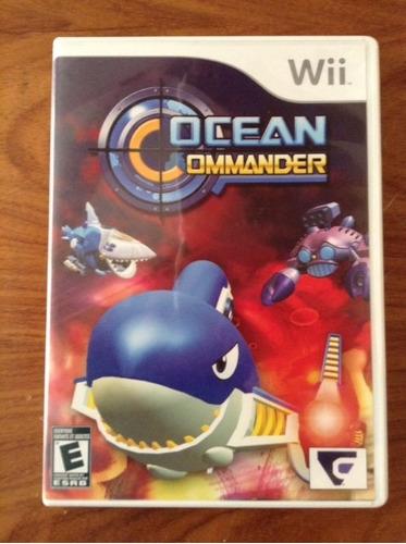 juego wii ocean ommander- poco uso
