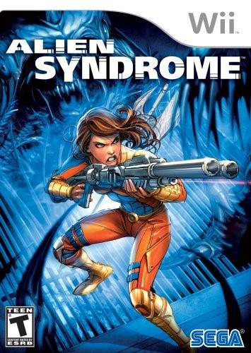 juego wii original alien syndrome