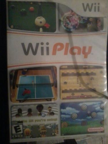 juego wii play para nintendo wii.