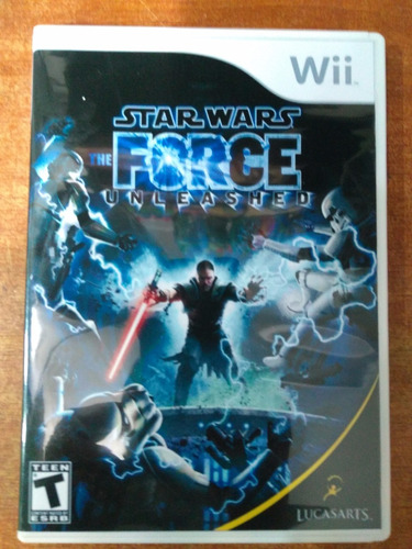 juego wii star wars the force unleashed original