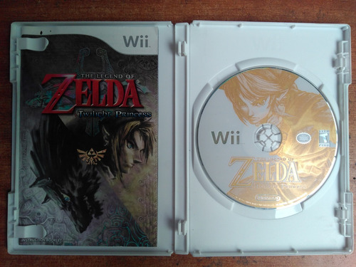 juego wii the legend zelda twilight princess