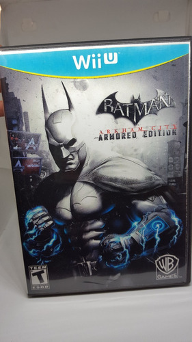 juego wii u batman arkham armored edition original disco