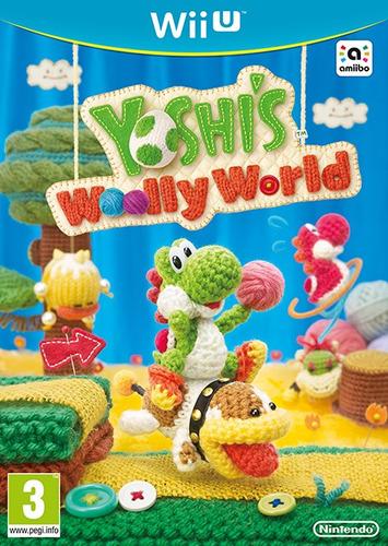 juego wii u yoshis woolly world