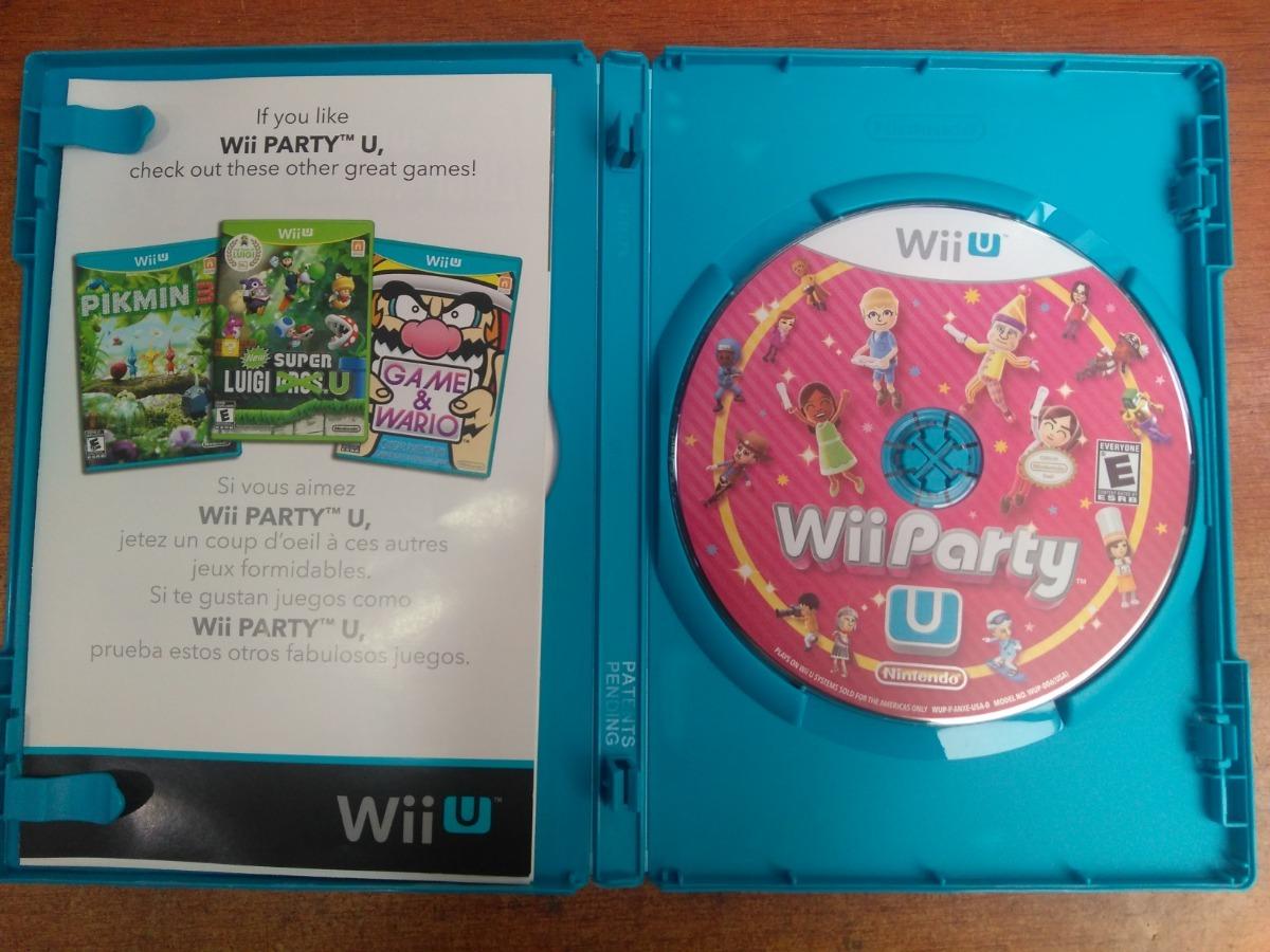 Juego Nintendo Wii U Wii Party U 65 000 En Mercado Libre