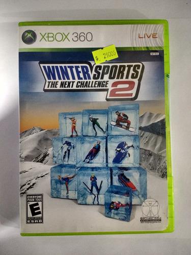 juego winter sports 2 original caja xbox 360 despachamos hoy