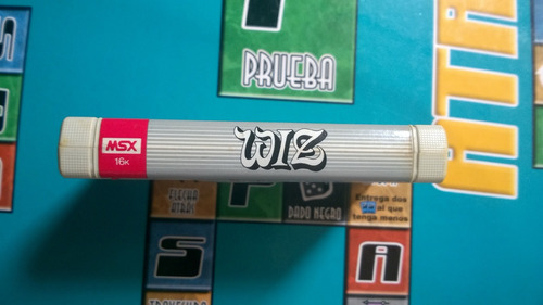 juego wiz 16k hit bit pa consola sony msx retro escaso retro