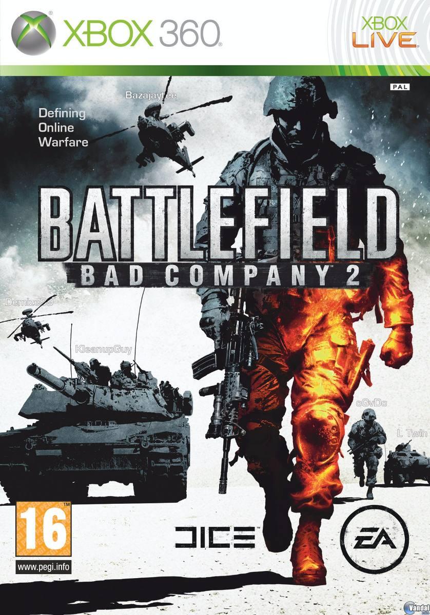 Juego Nuevo Xbox 360 Battlefield 2 Bad Company 70 000 En Mercado