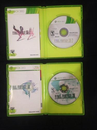 juego xbox 360 final fantasy xiii xiii-2