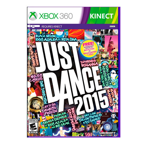 juego xbox 360 game just dance 2015 ibushak gaming