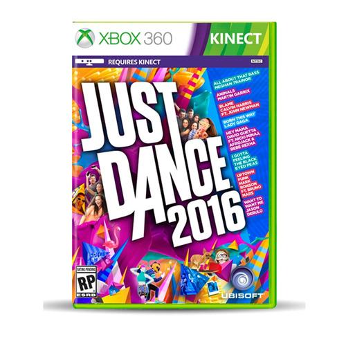 juego xbox 360 game just dance 2016 ibushak gaming