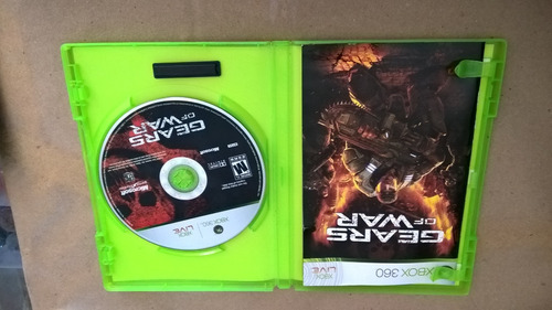 juego xbox 360 gears war