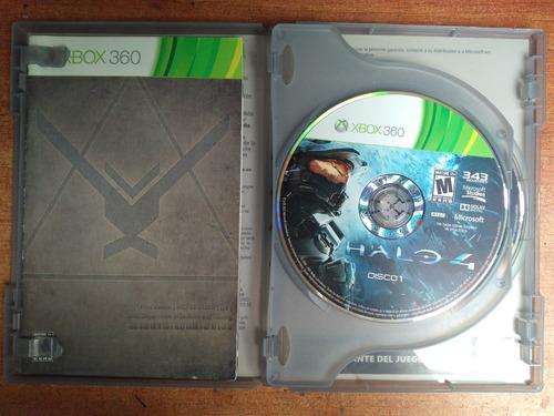 juego xbox 360 halo 4 original