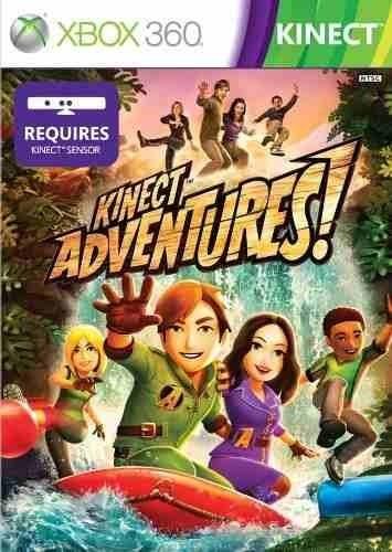 Juego Xbox 360 Kinect Adventures 300 00 En Mercado Libre