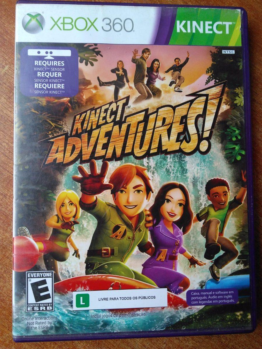 Juego Xbox 360 Kinect Adventures Original 15 000 En Mercado Libre