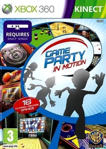 Juego Xbox 360 Kinect Game Party In Motion Deportes Yqq 892