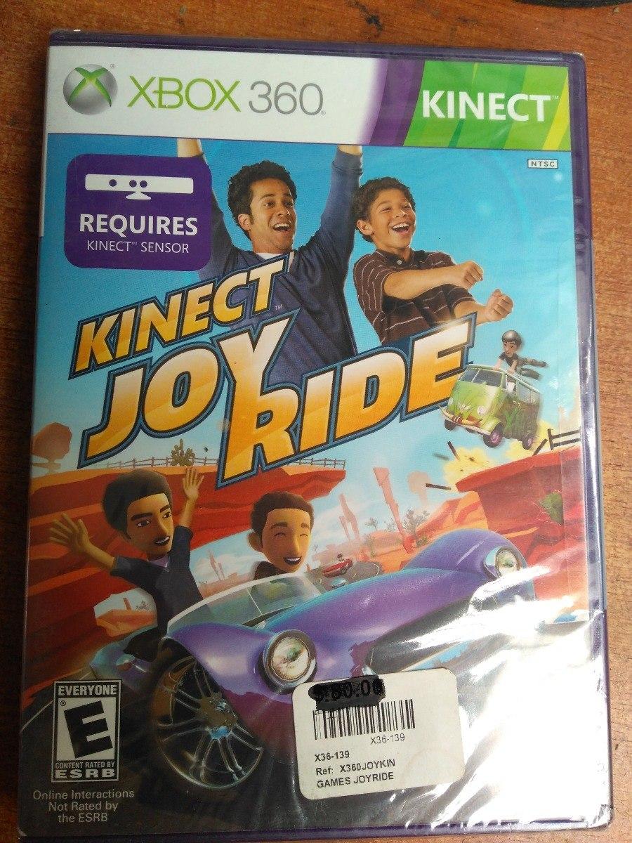 Juego Xbox 360 Kinect Joy Ride 50 000 En Mercado Libre