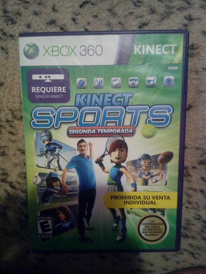 Juego Xbox 360 Kinect Sports Semi Nuevo 430 00 En Mercado Libre