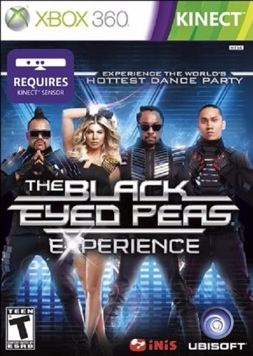 juego xbox 360 kinect the black eyed peas experience