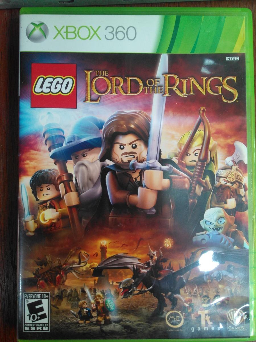 Juego Xbox 360 Lego El Senor De Los Anillos 50 000 En Mercado Libre