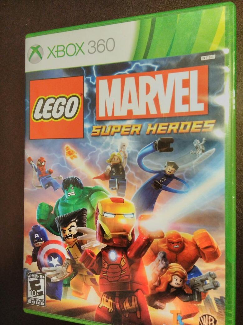 Juego Xbox 360 Lego Marvel Super Heroes 450 00 En Mercado Libre