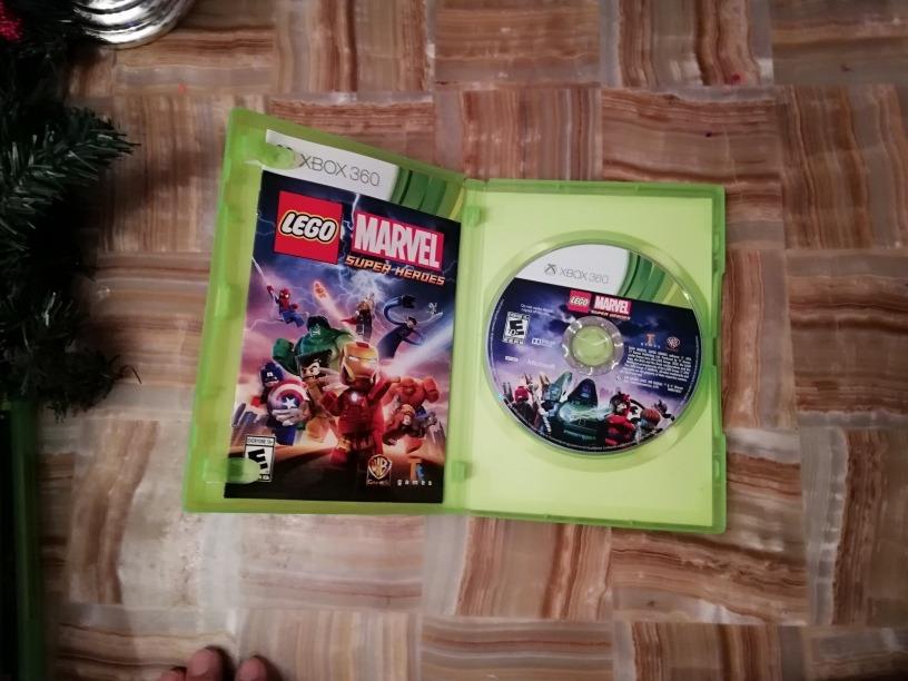 Lego Marvel Super Heroes Video Juego Para Xbox 360