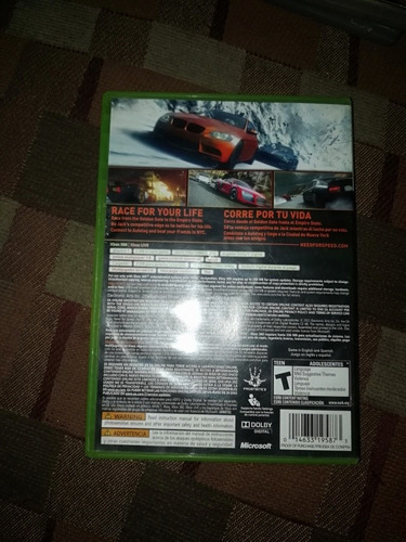 juego xbox 360 need for speed