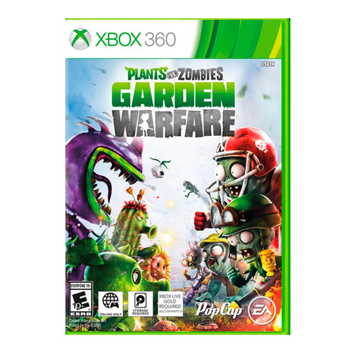 juego xbox 360 p vs z: garden warfare ibushak gaming