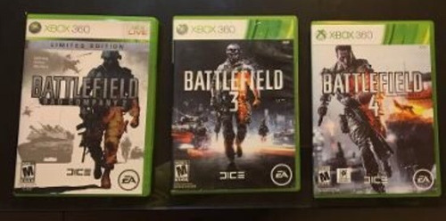 juego xbox 360 promo de battlefield