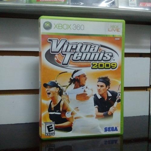 juego xbox 360 virtua tennis 2009 usado cat1