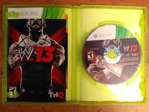 juego xbox 360 w13 stone cold fisico original