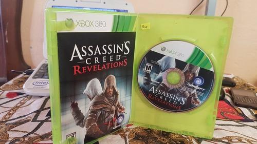juego xbox  assassins  creed revelations