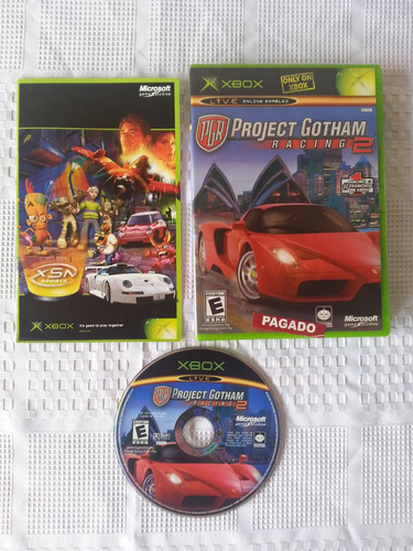 juego xbox clasico project gothan racing 2