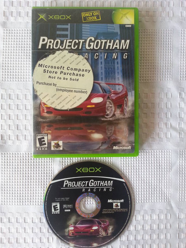 juego xbox clasico, project gothan racing