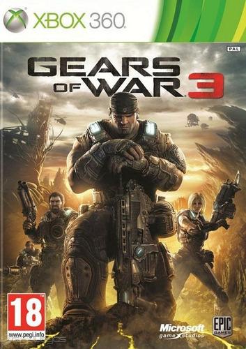 juego xbox gears of war 3 - [código no se envia disco]