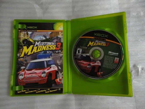juego xbox midtown madness 3