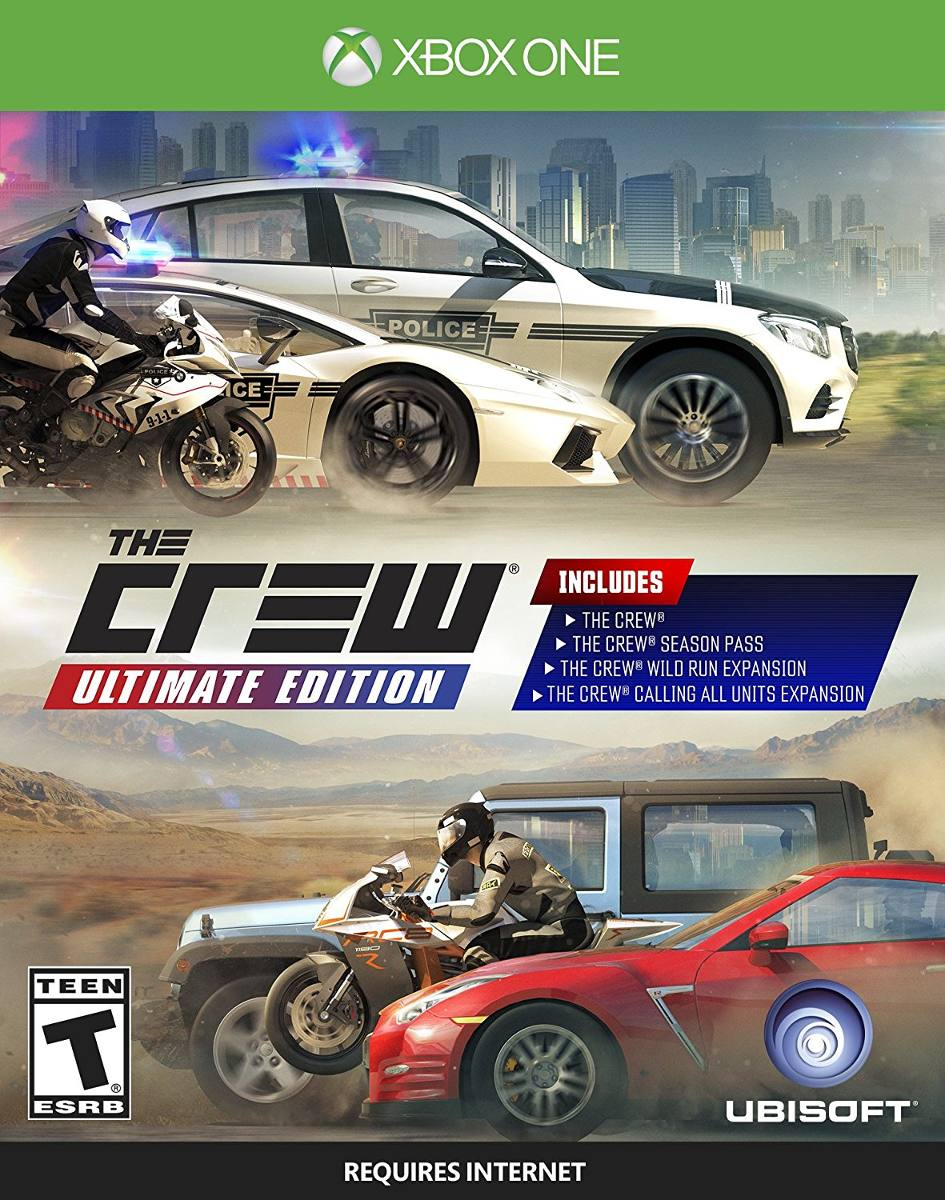 Juego Carreras The Crew Ultimate Xbox One Ibushak Gaming