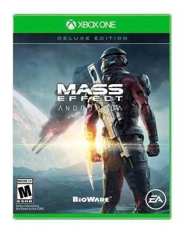 juego xbox one mass effect andromeda deluxe edition (us)