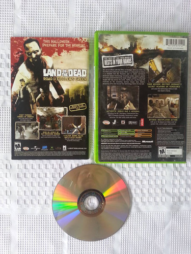 juego xbox world war 2 combat road to berlin completo