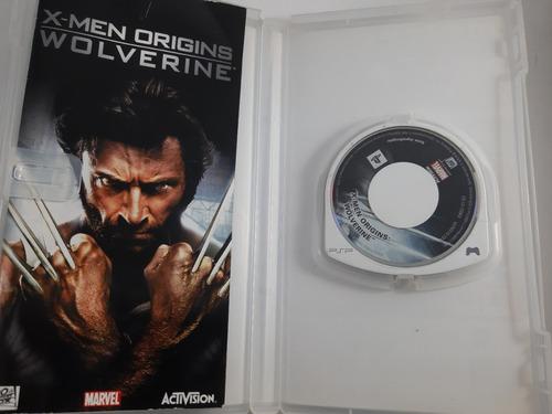 juego xmen origins wolverine psp