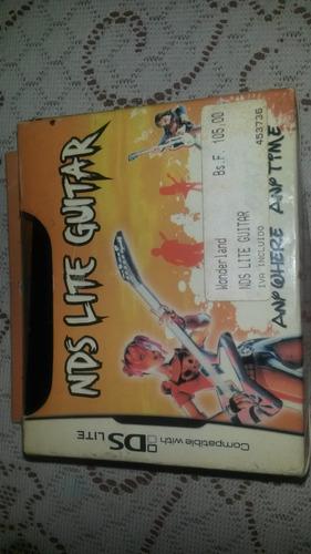 juego y control guitar hero para nintendo ds