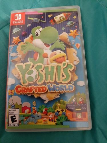 juego yoshi crafted world[nintendo switch] (poco uso)