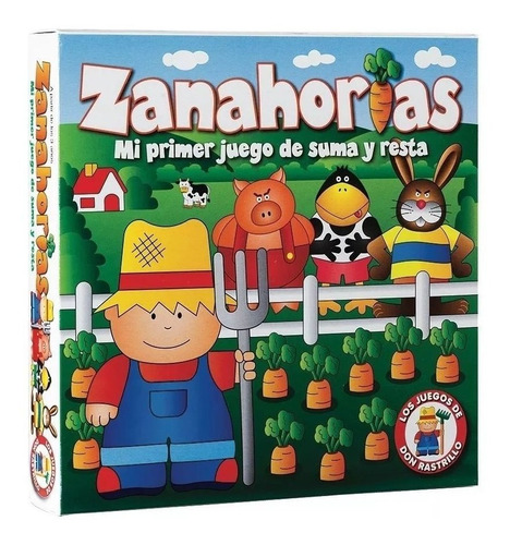 juego zanahorias ruibal línea don rastrillo (desde 4 años)
